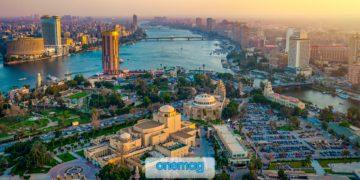 Il Cairo, l'enorme capitale dell'Egitto