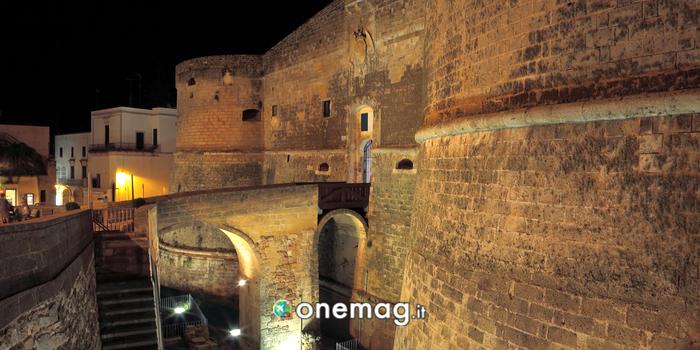 Il Castello di Otranto di sera