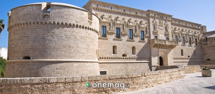 La struttura del Castello di Otranto