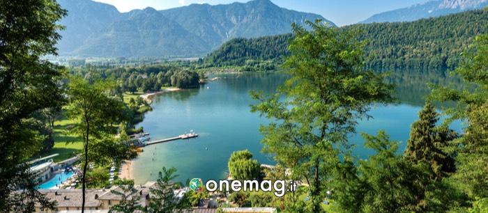 Panorama sul Lago di Levico