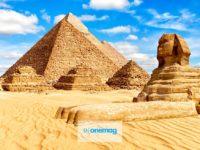 Piramidi di Giza | Le tre piramidi della Necropoli di Giza, Egitto