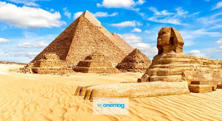 Piramidi di Giza   Le tre piramidi della Necropoli di Giza, Egitto