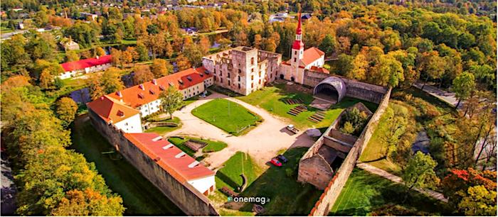 Jogeva, Estonia, castello di Poltsamaa