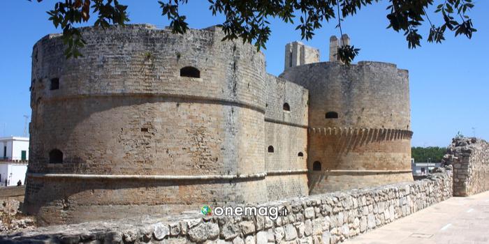 Struttura esterna del Castello di Otranto
