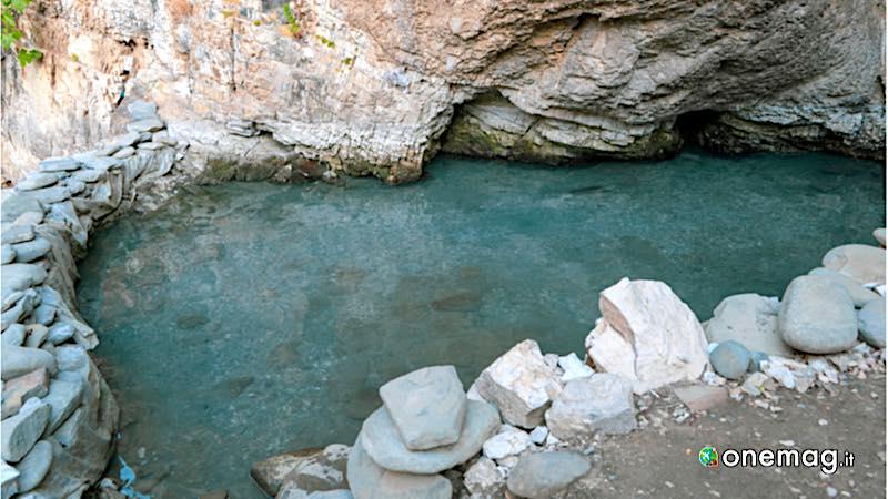 Le acque termali di Diber