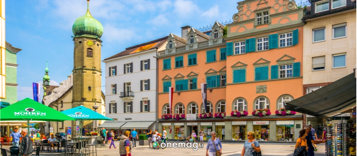 Cosa vedere a Bregenz, edifici storici