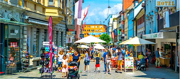Cosa vedere a Bregenz, la via pedonale dello shopping