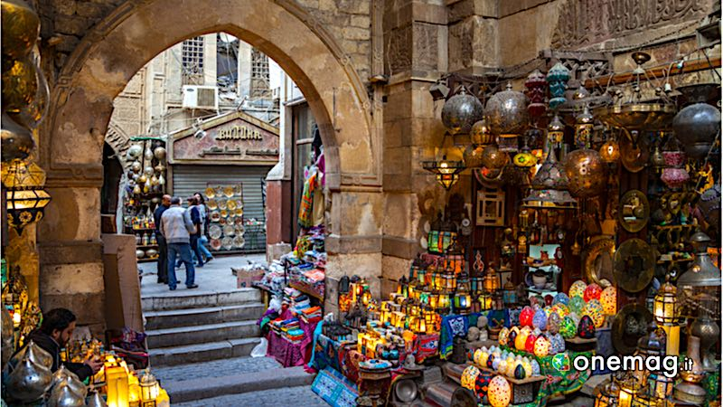 Il mercato di Khan al-Khalili, Il Cairo