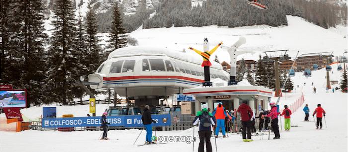Cosa vedere a Colfosco, piste da sci