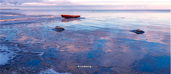 Jogeva, Estonia, lago Peipsi