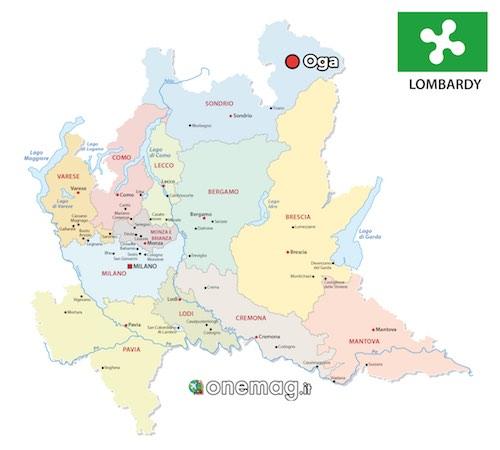 Mappa di Oga