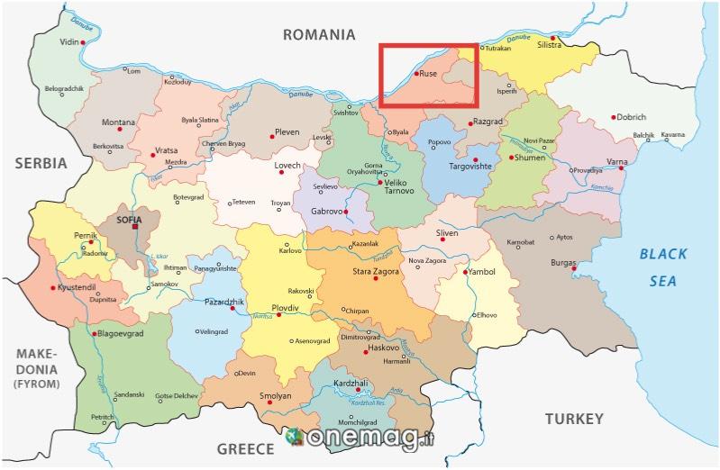 Mappa di Ruse