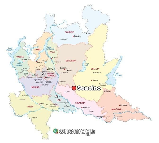 Mappa di Soncino, Cremona
