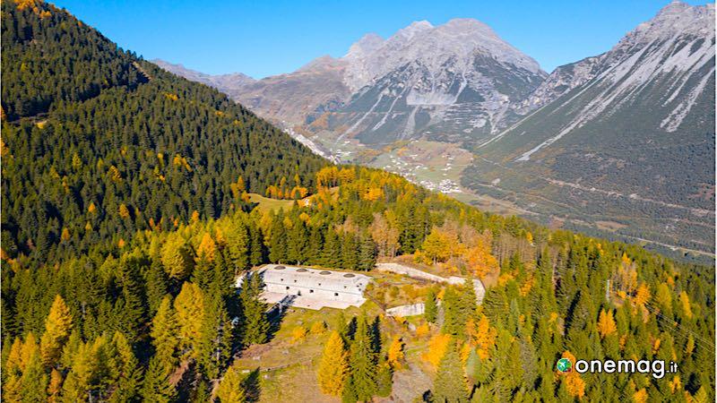 Forte Venini, Oga, Valtellina, Lombardia