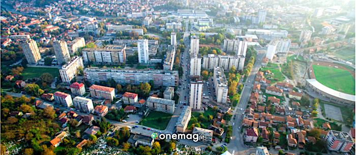Cosa vedere a Tuzla, veduta aerea