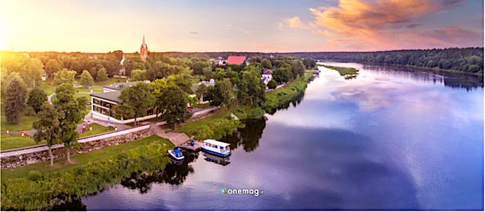 Sudovia, Lituania, veduta di Birštonas