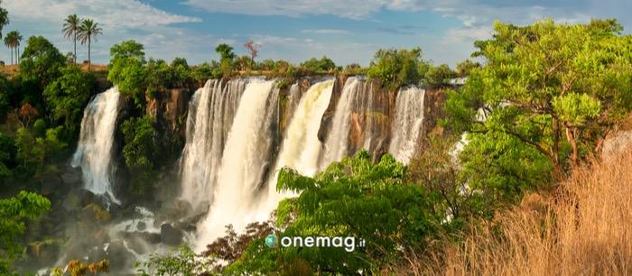Cascate nella provincia di Biè, Angola