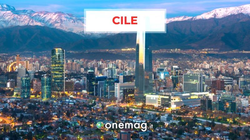 Cile, America