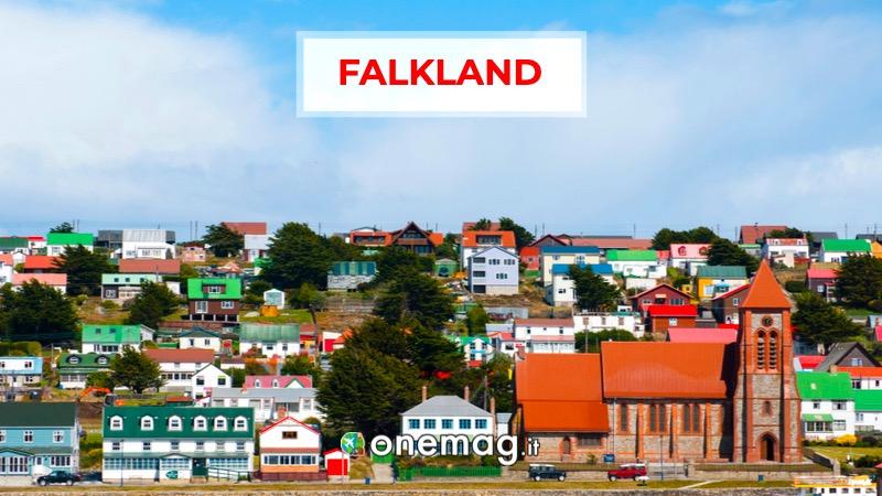 Isole Falkland, America
