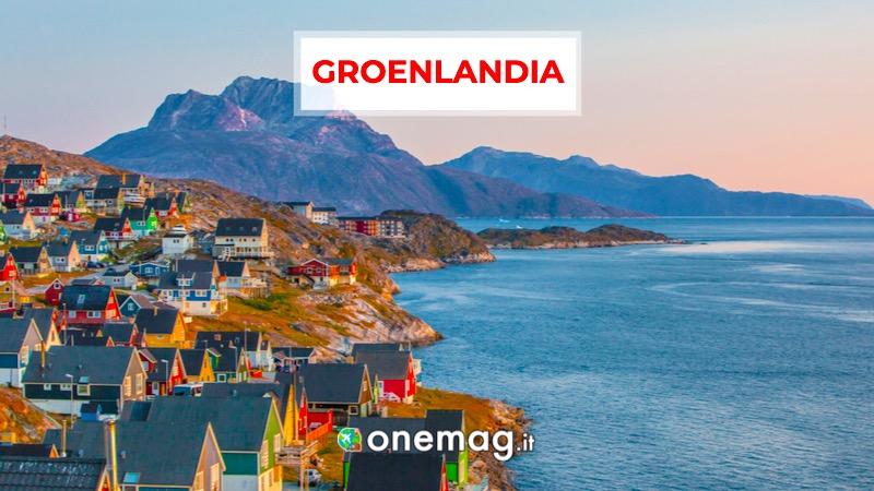 Groenlandia, America