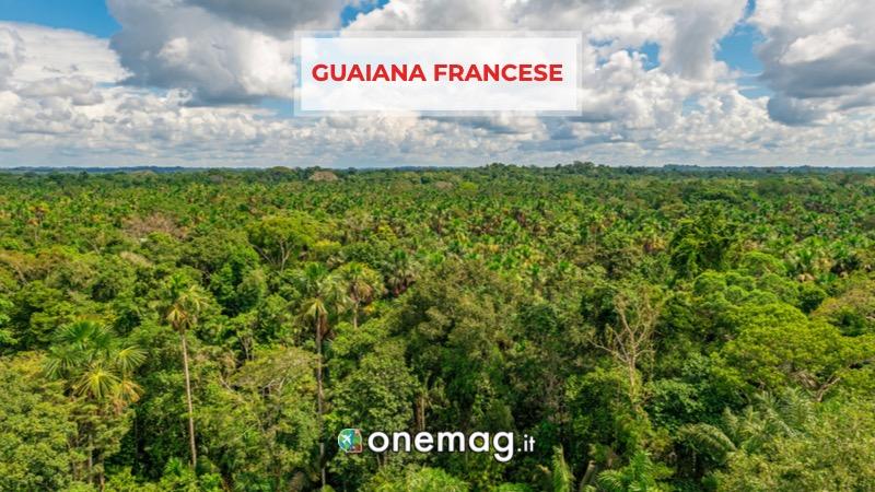 Guiana Francese, America