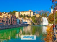 Isola del Liri, Frosinone, il borgo con la cascata nel centro storico
