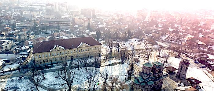 Cosa vedere a Kruševac, veduta invernale
