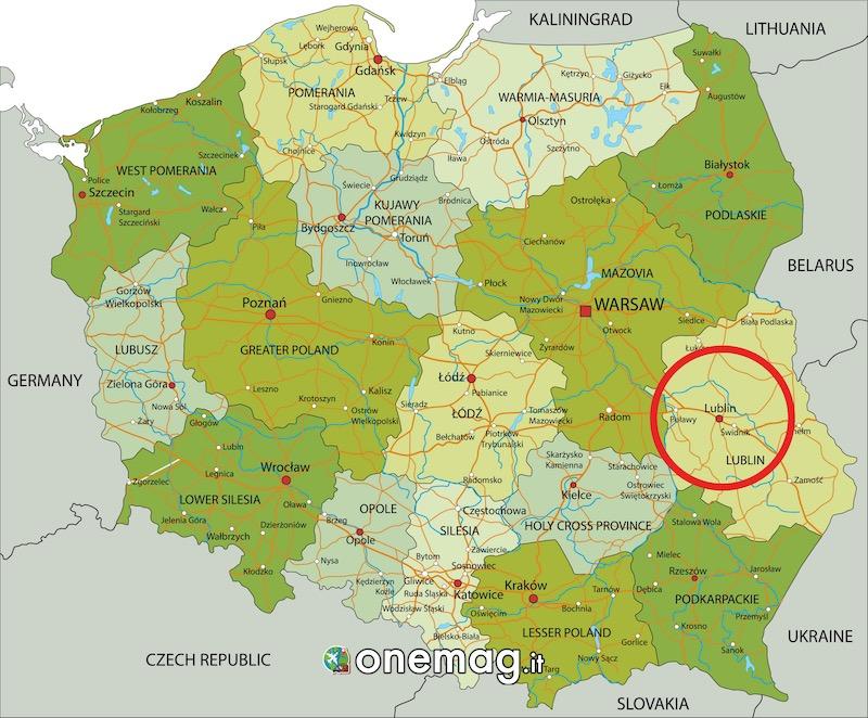 Mappa di Lublino