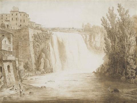 Jacob Philipp Hackert - The Cascata Grande of Isola del Liri , 1793 (fonte: http://www.artnet.com/)