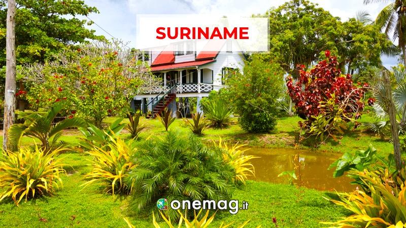 Suriname, America