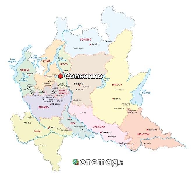 Mappa di Consonno