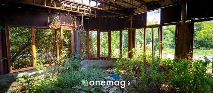 Panorama sulla Consonno abbandonata