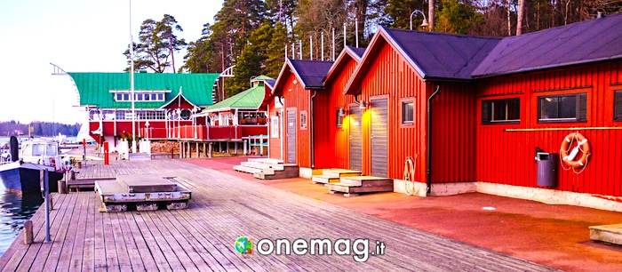 Il porto di Mariehamn, Isole Aland