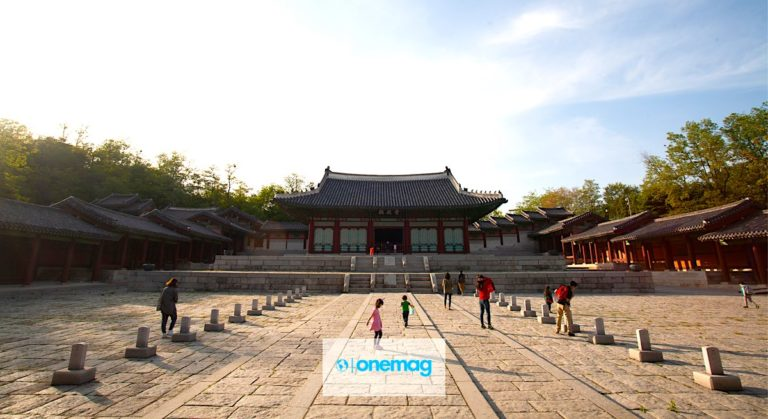 Il grande palazzo di Gyeonghuigung a Seul