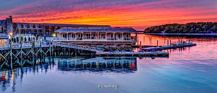 Cosa vedere a Bar Harbor, tramonto
