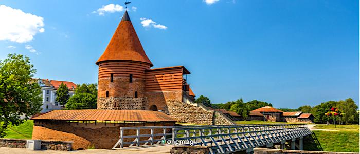 Cosa vedere a Kaunas, il castello