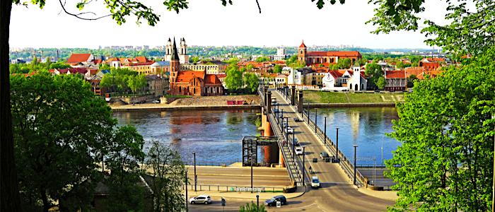 Cosa vedere a Kaunas, veduta