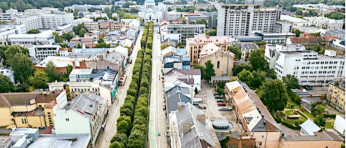 Cosa vedere a Kaunas, viale della Libertà