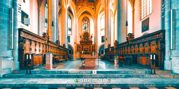 L'interno della Cattedrale di Ingolstadt