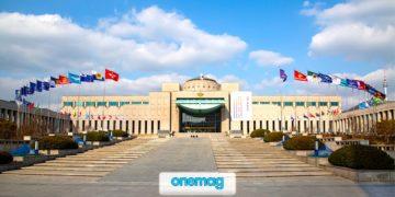 Il grande monumento-museo di Seul