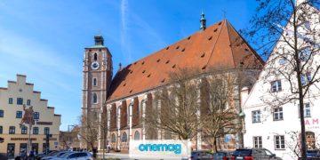 La cattedrale d'Ingolstadt, in Baviera