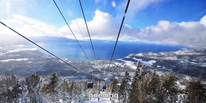 Sciare al Lago Tahoe