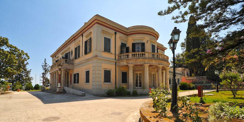 Cosa vedere a Corfù, Palazzo Mon Repos