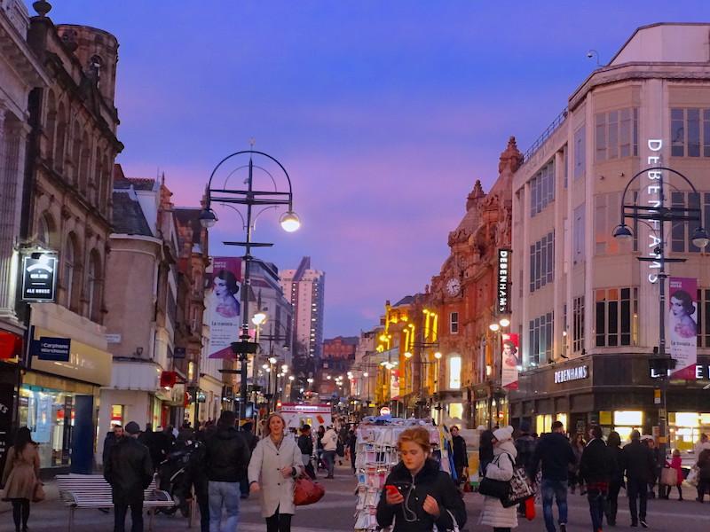 Cosa fare a Leeds, passeggiata nel centro città