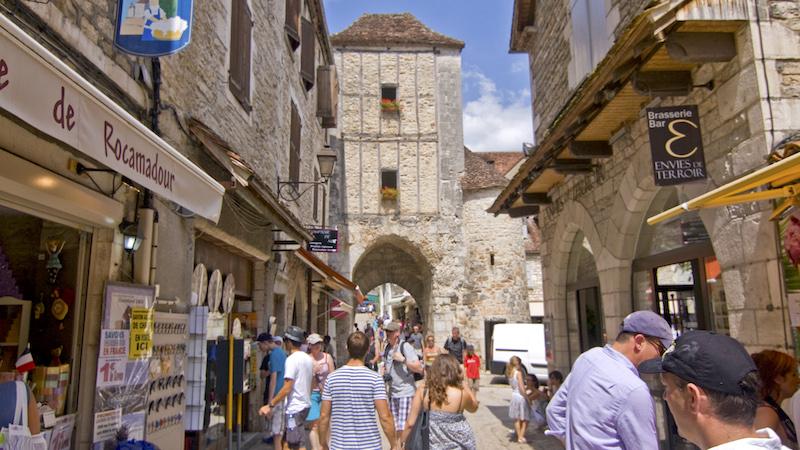 Cosa vedere a Rocamadour, ingresso nel borgo