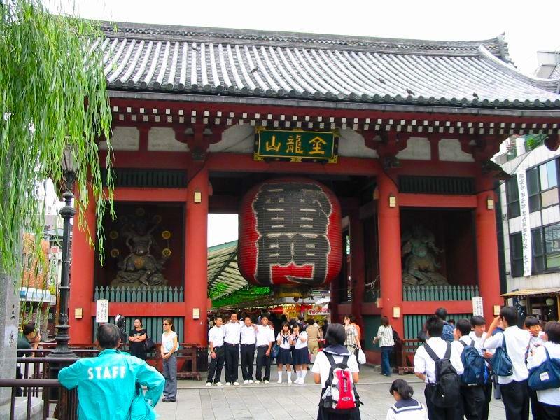 Cosa vedere ad Asakusa, Kaminarimon Gate