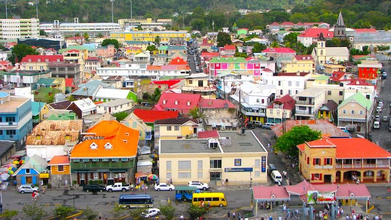 Cosa vedere in Dominica, La capitale di Dominica, Roseau