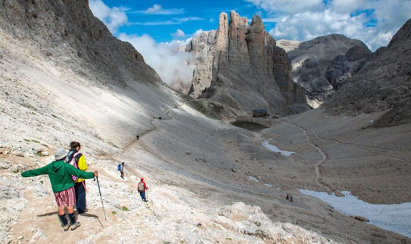 Escursioni alle Torri del Vajolet