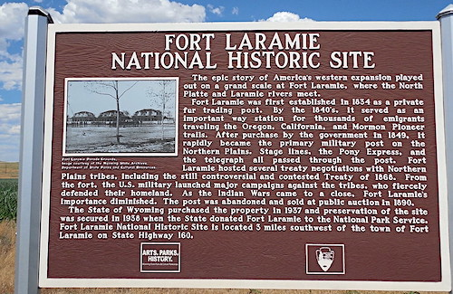 10 cose da vedere nello Wyoming, Fort Laramie