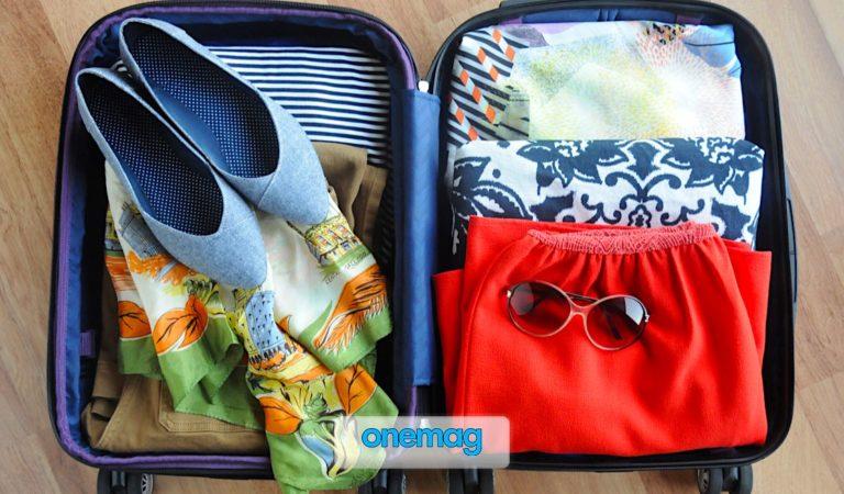 Cosa mettere in valigia, ecco l'indispensabile